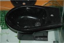 Black Galaxy Granite Basins, Oval Sinks, Bathroom Sinks , Wash Basins, Round Basins