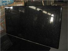 Black Galaxy Granite Polished Countertops