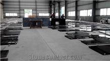 India Black Granite Polished Kitchen Countertops
