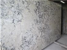 The Blue Ice Granite Polished Kitchen Countertop
