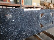 The Blue Pearl Granite Polished Kitchen Countertop