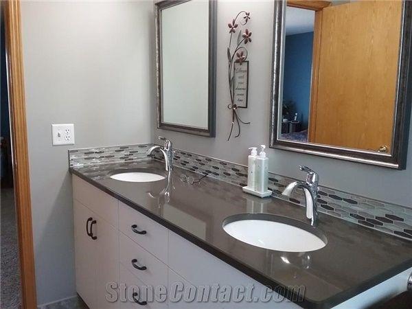 Quartz Stone Bathroom Top