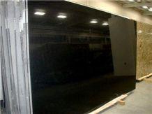 Absolute Black Granite Polished Slabs