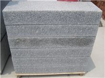 G383 Granite, China Multicolor Granite Tiles, Flamed, Bush Hammered, Chiseled, Kerb, Kerbstones, Curbs, Curbstone, Paving Sets, Steps, Boulders, Side Stones, Pool Coping