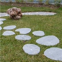 Garden Steps Oval Kavalas (Hand Cut)