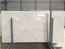 Calacatta White Quartz Stone Slabs