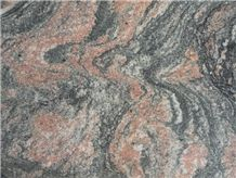 Multicolor Red Granite Slabs and Tiles