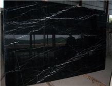 Nero Marquina Marble Big Slabs Small Veins