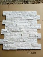 White Quartzite Cultural Stone Wall Tiles