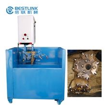 Electric Driven Grinding Machine for Button Bits Button Sharpening Grinder, Pneumatic Robot Arm Button Bits Grinder