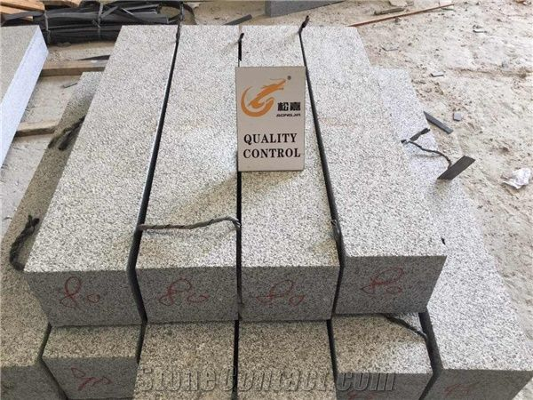 Grey Flamed Granite Kerb Stone,Cheap Road Covering Curb