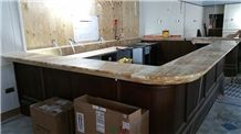 Honey Onyx Bar Top