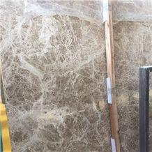 2017 Grey Beige Emperador Light Marble Slab Cheapest Price