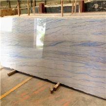 Azul Macaubas Quartzite Blue Slab and Tile