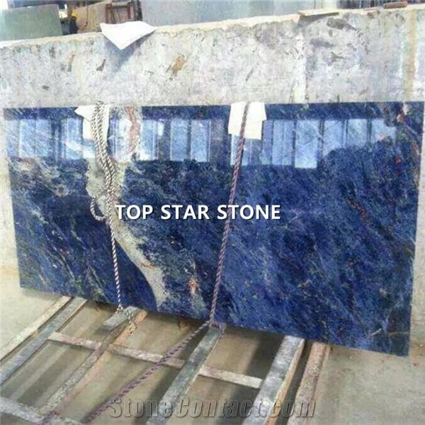 Cheap Blue Color Natural Stone Solidate Blue Granite From
