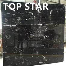 China Black Marble Century Black Ice Marble