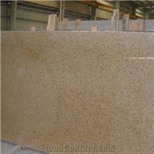 Chinese Polished G682/Rusty Yellow/Sunset Gold/Golden Sand/Giallo Ming/Giallo Rusty/Ming Gold/Yellow Rust/Desert Gold/Giallo Fantasia Granite Slabs & Tiles & Cut-To-Size, Big Slabs
