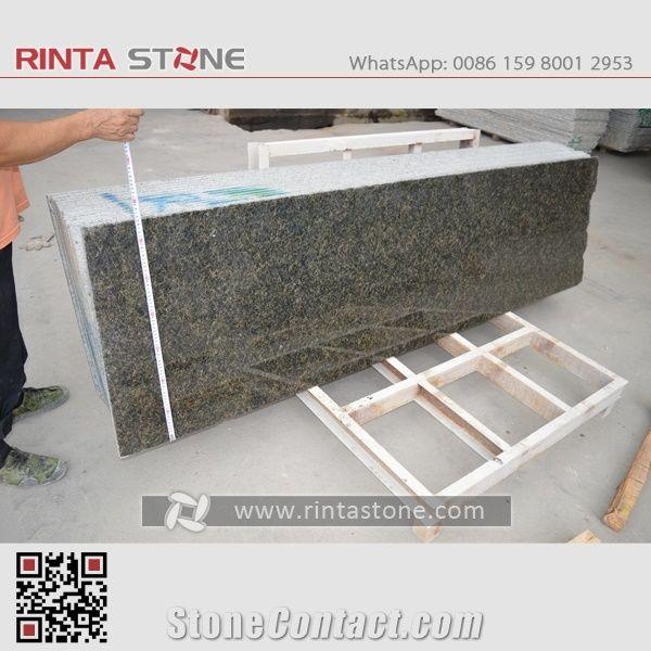 Labrador Green Granite Tiles Slabs Countertops Wash Basin Verde
