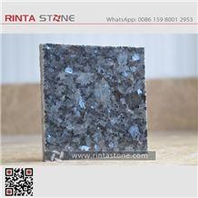 Royal Blue Pearl Granite Slabs Tiles Labrador Blue Granite,Blue Galaxy Silver Pearl Stone Medio Lundhs Blue Grey Pearl Azurro Blue Star Granite Lanzhenzhu