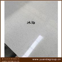 White Engineered Quartz Stone