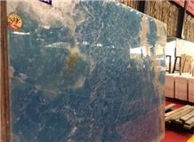 Antofagasta Azul Onyx/Blue Onxy Slabs and Tiles