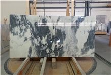 Calacatta Nero White Marble with Black Veins