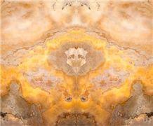 Volcano Onyx Slabs & Tiles, Yellow Onyx Floor Covering Tiles, Walling Tiles