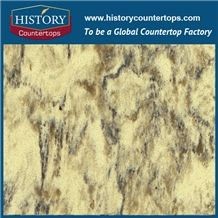 Chinese Gold Amazon Quartz Series, Like Natural Granite Polished Surface,Pitaya,Quartz Chips and Gravel,China Quartz Stone Manufacturer,Hot Selling Polishing Yellow Quartz Tile and Slab
