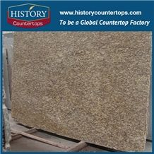 Chinese Gold Supplier High Quality Natural Giallo Cecilia Hubei Granite Tile and Slab from Own Factory