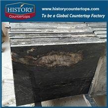 Cosmic Black Titanium, Titanium Mc Granite, Titanium Black,Titanium Black Quartzite Cut to Size & Slabs for Exterior - Interior Wall and Floor Applications