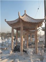 Chinese Style Marble Gazebo for Garden