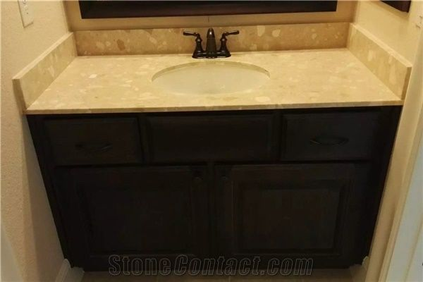 Artificial Stone Bathroom Vanity Top