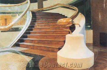 Brown Granite Stairs U0026 Steps, Stair Treads, Deck Stair