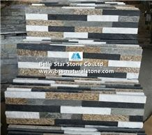 Black Quartzite White Quartzite Grey Slate Tiger Skin Yellow Slate Culture Stone,Natural Stacked Stone,Stone Wall Panel,Multicolor Ledgestone,Z Clad Stone Cladding,Real Stone Veneer,Fireplace Wall