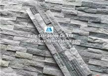 China Cloudy Grey Quartzite Stone Cladding,Silver Clouds Quartzite Ledgestone,Gray Clouds Quartzite Culture Stone,Natural Quartzite Stacked Stone,Real Stone Veneer,Clouds Stone Wall Panels