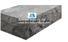 Chinese Blue Limestone Steps,Honed Blue Limestone Stair Treads,Half or 1/4 Bullnose Blue Limestone Staircase,Limestone Stair Riser,Outdoor Landscaping Blue Limestone Stairs,Blue Landscaping Stone