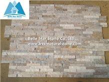 Golden Wood Quartzite Stacked Stone,Silver Quartzite Culture Stone,Shining Quartzite Z Clad Stone Cladding,Natural Quartzite Ledger Panels,Quartzite Stone Veneer,Quartzite Stone Wall Panels