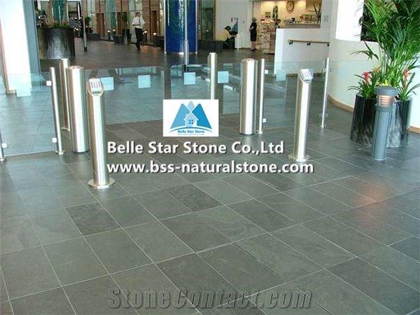 Green Riven Slate Tilesgrey Green Split Face Slate Floor Tiles