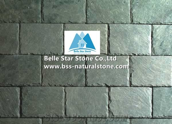 green slate roofing tiles chinese green