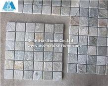 Oyster Split Face Quartzite Mosaic,Desert Gold Quartzite Mosaic Wall Tiles,Silver Sunset Quartzite Floor Mosaic,Golden Honey Quartzite Mosaic Pattern,White Gold Quartzite Mosaic Tiles,Natural Stone Mo