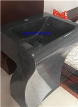 G654 Sesame Black Sinks,Padang Dark Sinks,Dark Grey Basins,Vessel Sinks,Wash Basins,Pedestal Basins,Square Basins,Square Pedestal Basins,Pedestal Sinks,Bathroom Sinks,Bathroom Basins