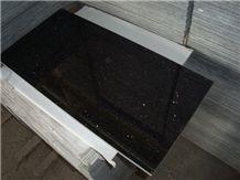 Polished Star Black Granite Tiles,Star Cloud Black Of Xinyi Granite Floor Tiles,Xinyi Black Stars and Clouds Granite Wall Tiles,Xing Yun Hei Granite Flooring,Xinyi Star Black Granite Floor Covering