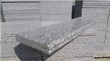 Zijiang White Granite Stairs & Steps,Zijiang Spray Granite,Zijiang Sea Flower Granite
