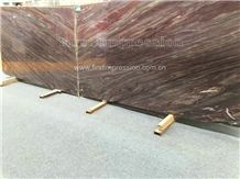 New Polished Multicolor Red Marble Slabs & Tiles/Marble Wall & Floor Covering Tiles/Wall Covering Tiles/Red Marble Pattern/Natural Building Stone Material/New Marble/Big Flower Like Phoenix