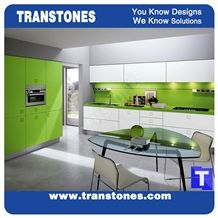 Green Quartz Stone Rectangle Kitchen Worktops,Verde Artificial Marble Counter Tops,Engineered Stone Panel for Desk, Solid Surface Panel Glass Stone Bench Tops Kitchen Backsplash, Interior Furniture