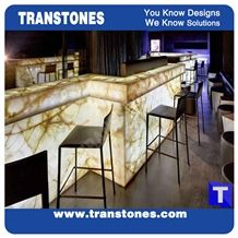 Solid Surface Translucent Forest Yellow Orange Artifical Alabaster Club Bar Tops,Reception Desk,Engineered Glass Stone Beige Onyx Bar Worktop,Table Top