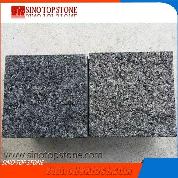 G654 Granite Paving Stone, Block Paving Driveway,Brick Patio Pavers,Dark  Grey Natural Spilt,Flamed,Sawn Cut Paving Stone, Cube Interior Building  Stone