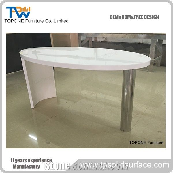 Best Price Artificial Marble Stone Office Table for Coffee