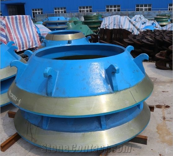 Metso Cone Crusher Parts Factory Price Conecave and Mantle