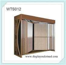 Wing Carpet Rack Stands Mat Roll Floor Display Racks Laminated Area Rug Steel Shelves